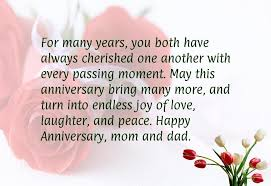 25th Wedding Anniversary Wishes Messages 25th Wedding Anniversary Ideas For Mom And Dad Lading For