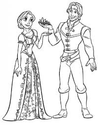 printable 36 in dress coloring page 7482 rapunzel coloring
