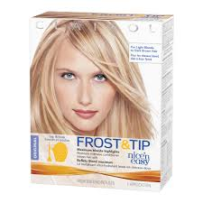 clairol nice u0027n easy frost u0026 tip original hair highlighting kit
