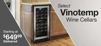 black friday wine fridge wine cellars u0026 coolers costco