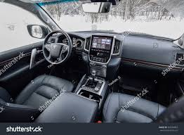 toyota land cruiser interior 2017 minsk belarus january 17 2017 toyota stock photo 565784863