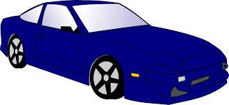 blue car clipart clipartxtras
