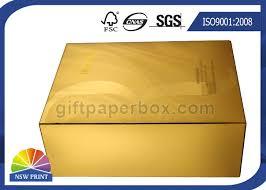 metallic gift box uv coating gold metallic paper gift box luxury cosmetic slide