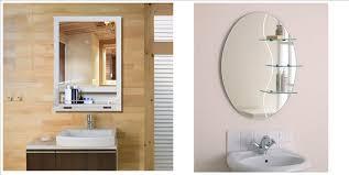 bathroom mirrors frameless frameless wall mirror frameless bathroom mirror with shelf