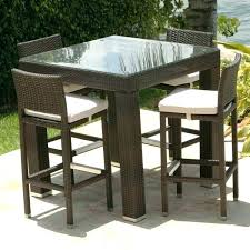 Patio High Top Table Patio High Dining Set Endearing High Patio Dining Sets Bistro