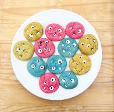 halloween monster eye cookies candy eye tutorial a blackbird u0027s