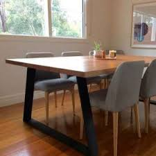 dining table with metal chairs lumber furniture