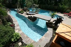 can you imagine having a lazy river pool in your own backyard