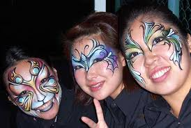 teen beauty party face painting an