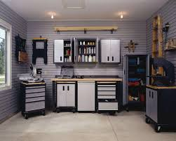 garage cabinets workbench design wooden garage workbench