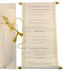 wedding scroll invitations invitation scrolls isura ink