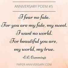 wedding quotes or poems 13 beautiful anniversary poems to inspire paper anniversary by
