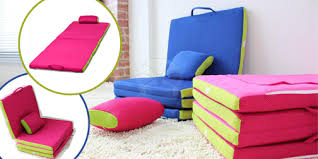 folding mattress sofa foldable z sofa bed available in 5 colours for rm188 delivery