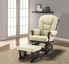 Gliders And Ottomans Naomi Home Deluxe Sleigh Glider And Ottoman Set U2013 Sleigh Glider