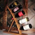 make hanging wooden wine racks u2014 home design ideas