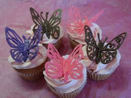decorating cupcakes 120 butterflies and