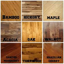 different of flooring on floor different types of wood