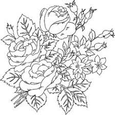 7 floral coloring pages graphics fairy coloring