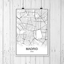 Madrid Map Compare Prices On Map Spain Online Shopping Buy Low Price Map