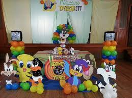 baby looney tunes baby shower decorations looney tunes baby shower lets plan a party 2 kemoco whimsy