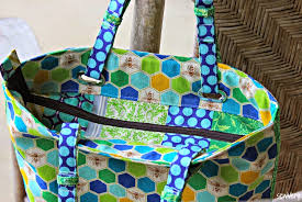 pattern for tote bag with zipper emmaline bags sewing patterns and purse supplies the totes ma tote