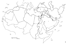 outline map middle east best photos of blank map of northern africa africa south