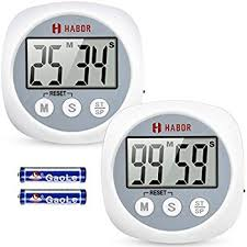 reading l with timer amazon com habor digital kitchen timer cooking timers clock