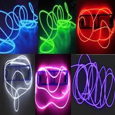 products lights el wire neon light tdltek