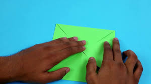 how to make simple origami paper craft for kids tutorial paper