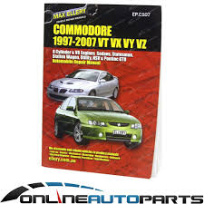 statesman wh wk wl workshop repair manual v6 v8 service new book