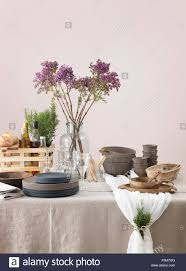 Elegant Table Settings by Sweden Vastergotland Elegant Table Setting Stock Photo Royalty