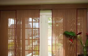woven wood matchstick vertical sliding panels blinds bamboo