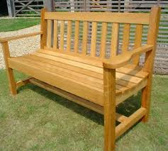 simple wooden garden bench plans outdoor bench with storage