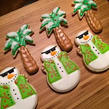 tropical christmas cookie connection christmas holiday winter