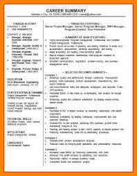 Professional Summary Resume Examples For Software Developer 10 Professional Summary Example Apgar Score Chart