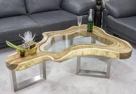 Wohnzimmertisch G Stig Tische Aus Einer Baumscheibe Der Tischonkel