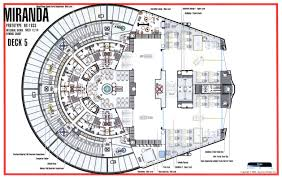 Starship Floor Plan Miranda Class Cruiser The Phoenix Division