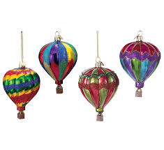 amazon com kurt adler noble gems air balloon christmas