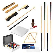 pool table accessories amazon amazon com pool table accessory 32 piece kit billiards balls