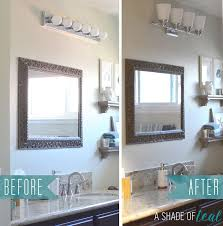 Installing A Bathroom Light Fixture by Hall Bath Chronicles New Light Fixture