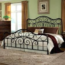 Wrought Iron Headboard Full by Headboard Collection In White Iron Headboard Rutherford Bed