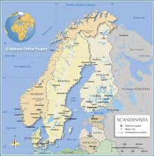 Show Me A Map Of Europe by Political Map Of Scandinavia Nations Online Project