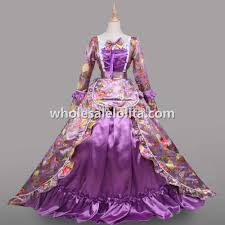 aliexpress com buy 18th century period dress purple marie