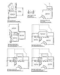 Floor Plans With Porte Cochere Plan D733 Cross Creek Ranch 65 U0027 In Fulshear Tx