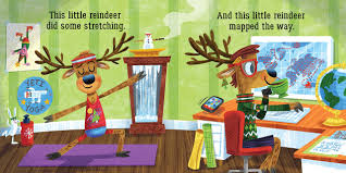 amazon com this little reindeer 9781499805253 aly fronis luke
