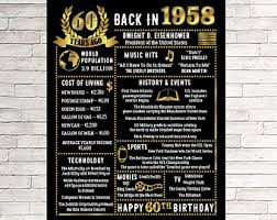 60 year birthday gift 80th birthday gift 80th birthday poster 1938 birthday 1938