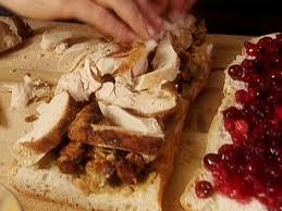 turkey dressing and cranberry panini recipe michael chiarello