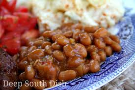 deep south dish southern style baked beans