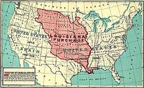 usa map louisiana purchase louisiana purchase new world encyclopedia
