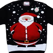 christmas jumper mens christmas jumper 3d santa belly menswear b m